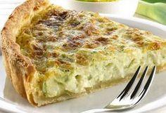 Quiche-de-puerros Quiches, Veggie Recipes, Vegetarian Recipes, Cooking Recipes, Healthy Recipes, Empanadas, My Favorite Food, Favorite Recipes, Tapas