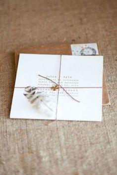 Une invitation originale, vintage et chic pour votre mariage Image: 8
