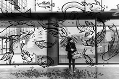 Se il mondo è troppo grigio, questa disegnatrice italiana Giulia Pex ha trovato un rimedio. #art #drawing