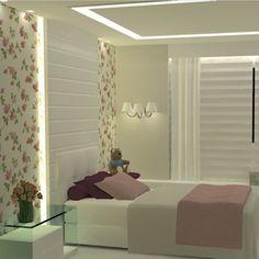 Projetando #quartomenina a pedido da cliente #floral #decoraçao #Padgram