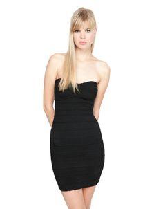 Bershka Bosnia and Herzegovina - Bershka strapless dress
