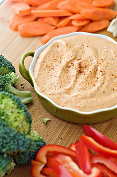The Smoothest Roasted Red Pepper and Chipotle Hummus | Cook Like A Champion