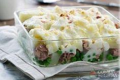 Receita de Legumes e atum parmentier em receitas de legumes e verduras, veja essa e outras receitas aqui!