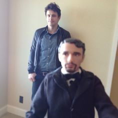 James and his doll - James Franco's super weird Instagram feed