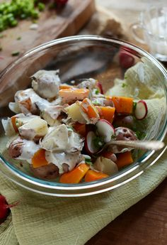 Butternut Squash Potato Salad