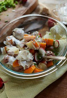 Easy Butternut Squash Potato Salad   minimalistbaker.com recipes