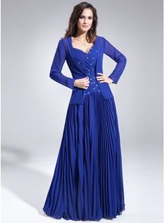 Mother of the Bride Dresses - $187.99 - A-Line/Princess Sweetheart Floor-Length Chiffon Mother of the Bride Dress With Ruffle Beading  http://www.dressfirst.com/A-Line-Princess-Sweetheart-Floor-Length-Chiffon-Mother-Of-The-Bride-Dress-With-Ruffle-Beading-008006398-g6398