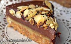 Szájban szétrobbanó marcipános csokitorta recept fotóval