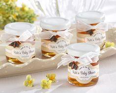 Personalized Mini Honey Jar Baby Shower Favors Sweet As Can Bee. Mini honey jar baby shower favors w Unique Baby Shower Favors, Cute Baby Shower Ideas, Baby Shower Themes, Baby Shower Party Favors, Baby Shower Parties, Baby Showers, Shower Gifts, Bridal Showers, Honey Jar Favors