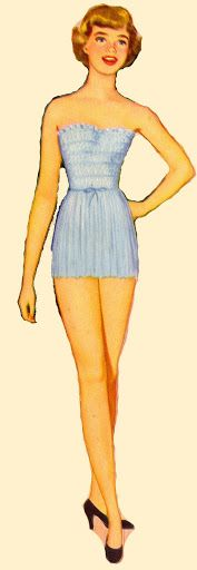 Paper Doll 1950's