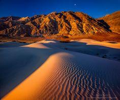 Remote Death Valley Dunes: Photo by Photographer Steve Sieren
