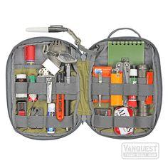 EDC Maximizer™ Organizer by Vanquest Edc Tactical, Tactical Survival, Survival Tools, Camping Survival, Outdoor Survival, Survival Prepping, Emergency Preparedness, Bug Out Gear, Get Home Bag