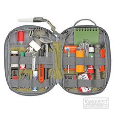EDCM-SLIM: EDC Maximizer™ Organizer - VANQUEST: TOUGH-BUILT GEAR