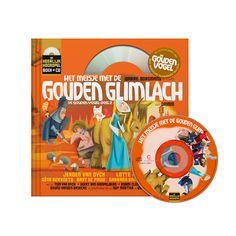 Boek & CD: Het Meisje met de Gouden Glimlach (uitg. Het Geluidshuis) Logo, Logos, Environmental Print