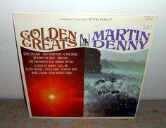 Vintage Vinyl Album Martin Denny Golden Greats Jazz by TheBackShak, $10.00