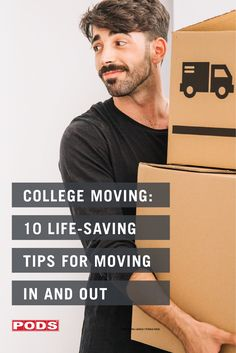 Mini fridge? Check! Bath towels? Check! Posters, pictures, and personal items to make your dorm feel like home? Check! This is getting exciting! Be sure to also check out our blog for our 10 college moving tips that can save you time and hassle before heading to campus. #ContainingTheChaos #PODS College Moving Tips, Moving Day, College Dorm Essentials, Storage Center, Moving And Storage, Mini Fridge, Get Excited, College Life, Saving Tips