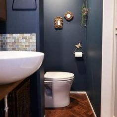 ヴィンテージ×フレンチ。「私らしさ」の心地よい共存。の部屋 洗面 French Vintage, Toilet, Bathroom, Interior, Home, Rest Room, Yahoo, Kitchen, Bathrooms