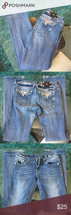 Miss Me jeans Used condition Miss Me Jeans size 29 inseam 34 Miss Me Jeans Boot Cut