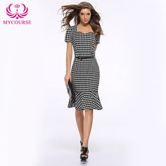 Find More Dresses Information about MYCOURSE Women Sexy Round Neck Short Sleeve Slim Fishtail Dress With Belt,High Quality dresses occasion,China sleeve notebook Suppliers, Cheap dresses long sleeve from MYCOURSE on Aliexpress.com