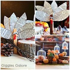Clothespin Turkeyt -Thanksgiving Kids craft idea!