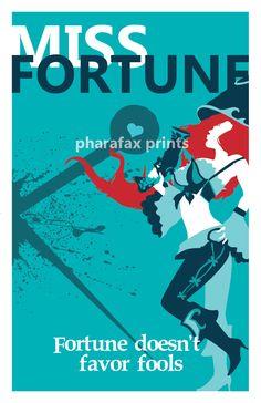 Miss Fortune: League of Legends Print