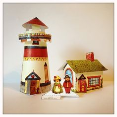 Paper Lighthouse, Mr. and Mrs. Barnacle.