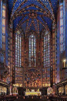 Altar virgen María, Cracovia