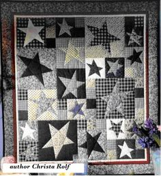 Crazy cut squares tutorial. author Christa Rolf - Crazy assembly of cut squares - QuiltStudio.info - http://quiltstudio.info/?p=988