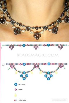 Beaded Embroidery Jewelry For Sale & Jewellery Jobs. Beaded Embroidery Jewelry For Sale & Jewellery Jobs. Bead Jewellery, Seed Bead Jewelry, Seed Beads, Jewellery Shops, Jewelry Stores, Pearl Jewelry, Jewelry Necklaces, Flower Jewelry, Pandora Jewelry