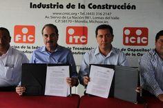 Jorge Tovar Zavala, presidente de la CMIC delegación Michoacán, detalló que la comisión mixta habrá de impulsar proyectos para la construcción, modernización y conservación de carreteras Con el objetivo de ...