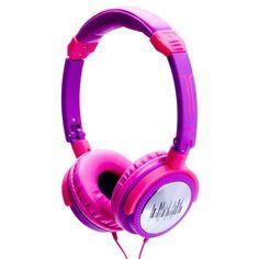 iDance Crazy 601 Kopfhörer Pink/Lila Headphones #Geschenkidee
