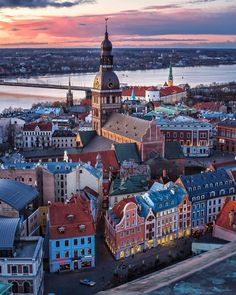 Riga, Latvia (by Vladimir Kalmykov photographer) Latvia Travel Destinations Places To Travel, Travel Destinations, Places To Visit, Beautiful World, Beautiful Places, 1000 Lifehacks, Riga Latvia, Cities In Europe, Nouvel An
