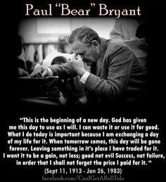 "Paul ""Bear"" Bryant"