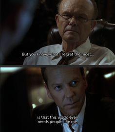 Jack Bauer and Senator Blaine Mayer; Season 7