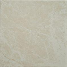 Zoomed: Style Selections 11-4/5-in x 11-4/5-in Clorinda Cream Glazed Porcelain Floor Tile