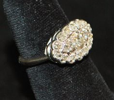 1950's Diamond Princess Ring -- I want!