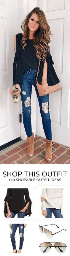 Trend Accesories - #fall #outfits Black Cold Shoulder Top   Ripped Skinny Jeans Google presented a great variety of new products on October 4 in San Francisco.However, these releases are not the only Made for Google products that the company has now on the market and that could interest you.