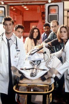 Urgences - Sherry Stringfield - George Clooney - Anthony Edwards - Julianna Margulies - Eriq La Salle - Noah Wyle