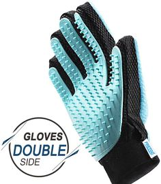 FRETOD Pet Glove Grooming Tool - Double-Side with Furniture Hair Remover Mitt -Dog Cat Hair Deshedding Brush for Long & Short Fur - Bathing Massage Comb Dog Grooming Tools, Dog Grooming Supplies, Cat Grooming, Grand Chat, Dog Breath, Pet Food Storage, Crazy Dog Lady, Pet News, Cat Hair