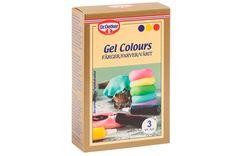 Dr. Oetker Gel Colours ja luontaiset aromit