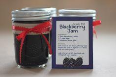 Crock Pot Blackberry Jam
