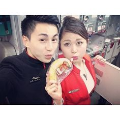 Rickilicious on Instagram: Flying with my housemate:) 忙しいフライトもハウスメイトいたら問題なし:) #happyflight #ILoveMyJob #ComeFlyWithUs #FlightAttendant #Japanese #crewlife #crewfie Flying with my housemate:) 忙しいフライトもハウスメイトいたら問題なし:) #happyflight #ILoveMyJob #ComeFlyWithUs #FlightAttendant #Japanese #crewlife #crewfie #CuteAsian  #AirAsiaX #KIX #KUL #Osaka #Japan #客室乗務員 #ニホンジン #大阪便 #ハウスメイト #同期 by rickiliciouss Source by crewiser : @instacrewiser #crewiser #instacrewiser by crewiser.com