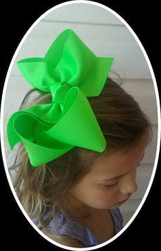 "Large hair bow, Boutique hair bow, Twisted hair bow, Southern Style Hair Bow made with 2.25""in Grosgrain Ribbon on Etsy, $6.75"