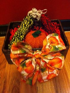 Autumn Decorative Box by BlackLashes25 on Etsy, $10.00
