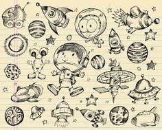 Resultado de imagen para doodle moon