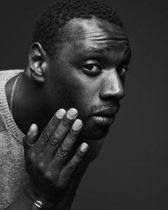 Omar Sy (1978) - French actor and comedian. Photo © Frank Bauer