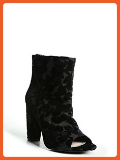 Floral Velvet Booties (Wide Width) - Boots for women (*Amazon Partner-Link)