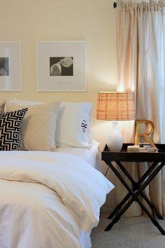 Neutral Bedroom - House of Hydrangeas