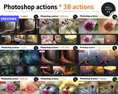 Photoshop actions *38 by *lieveheersbeestje on deviantART