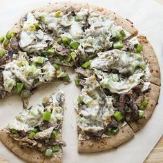 Philly Cheesesteak Pizza | Skinny Mom | Where Moms Get the Skinny on Healthy Living